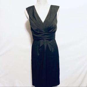 White House Black Market cocktail dress sz 4
